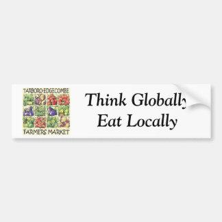 Tarboro-Edgecombe Farmers Market Bumper Sticker