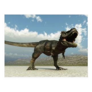 Tarbosaurus Postcard