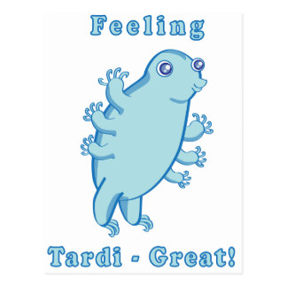 Tardi-Great! Postcard