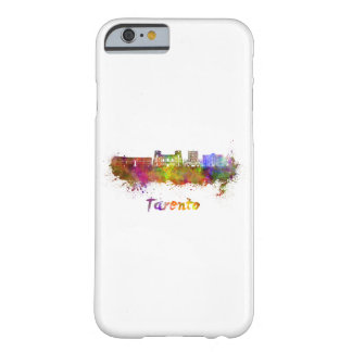Tarento skyline in watercolor barely there iPhone 6 case
