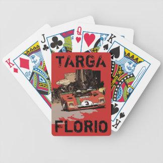 TARGA FLORIO RACE BICYCLE PLAYING CARDS