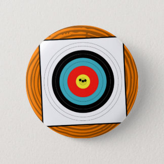 Target 6 Cm Round Badge