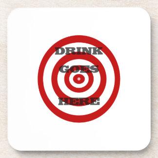 Target Bullseye Drink Coaster