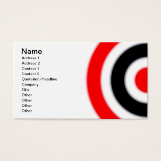 Target Business Card