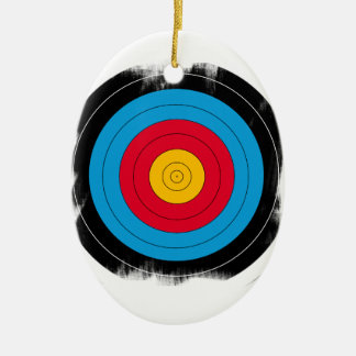 Target Face Christmas Tree Ornaments