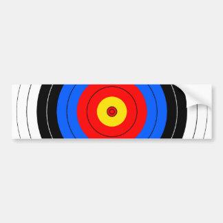 Target Lines Bumper Sticker