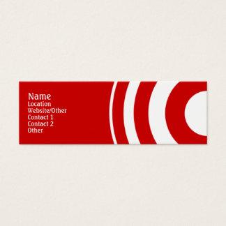 Target Mini Business Card
