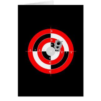 Target Practice Card
