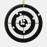 Target Practice Christmas Ornament