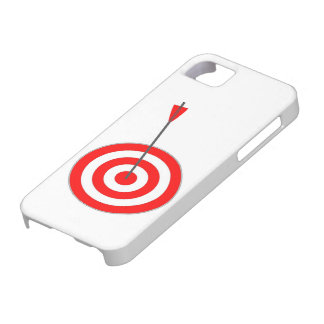 Target with arrow case for the iPhone 5
