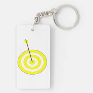 Target with arrow key ring