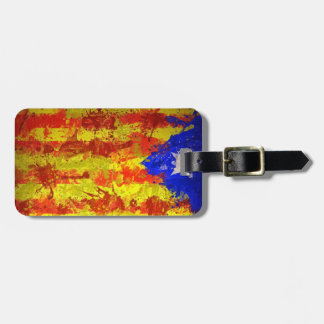 Targeta suitcase estelada. tags for bags