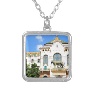 Targu-Mures, Romania Silver Plated Necklace