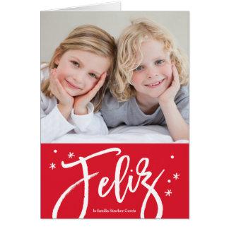 tarjeta de Navidad española Card