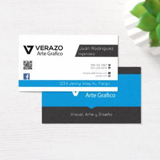 Tarjeta profesional de Software Engineer Business Card