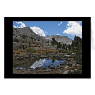 Tarn East of Marie Lake - John Muir Wilderness Card