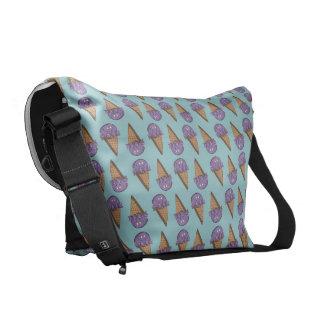 Taro Cone Courier Bag