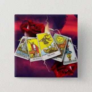 Tarot card buttons