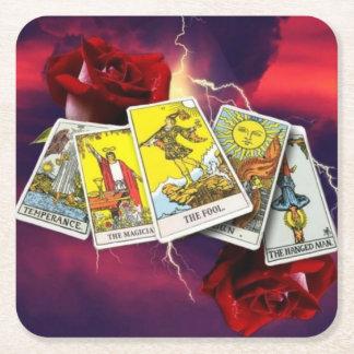 Tarot card coasters