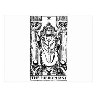 Tarot card 'hierophant'