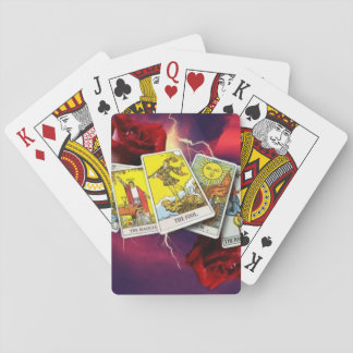 Tarot card playing cards
