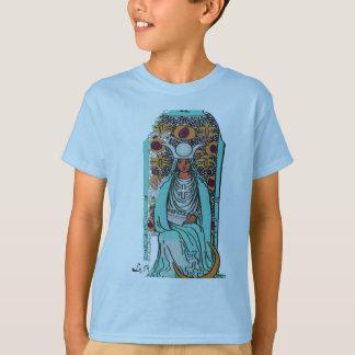 TAROT CARD THE HIGH PRIESTESS BY LIZ LOZ T-Shirt