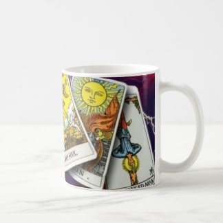 Tarot card value mug