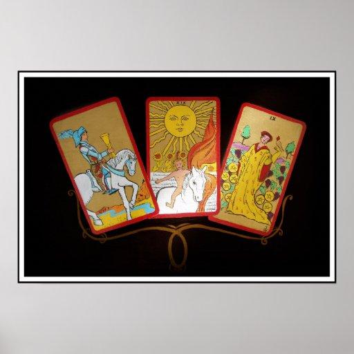 Tarot Cards (2) Print