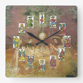 Tarot Cards Fortune Teller Clock