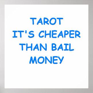 tarot cards posters