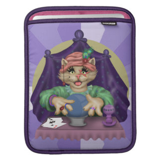 TAROT CAT CARTOON IPAD SLEEVE FOR iPads