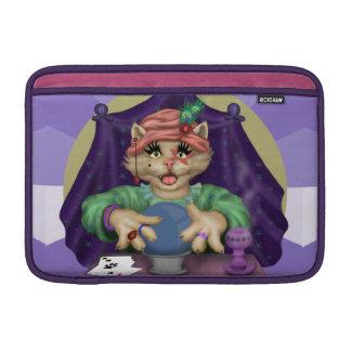 TAROT CAT CARTOON Macbook Air 11 onz H Sleeve For MacBook Air
