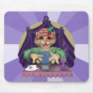 TAROT CAT  CARTOON  Mousepad