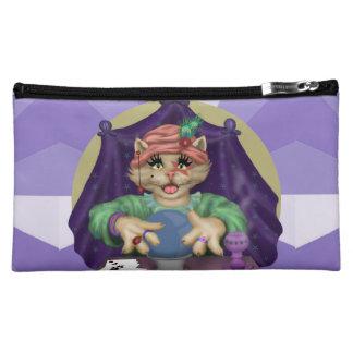 TAROT CAT Medium Cosmetic  Bag Makeup Bag