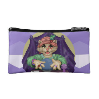 TAROT CAT Small Cosmetic  Bag