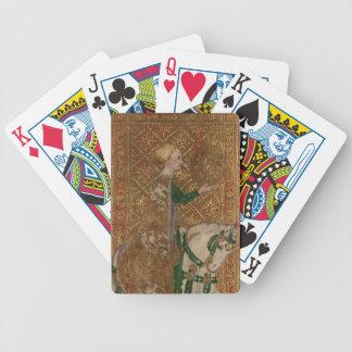 Tarot Lady Knight Renaissance Wedding Favor Poker Deck