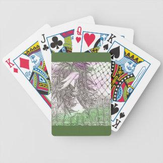 Tarot Symbol Angel Bicycle Playing Cards