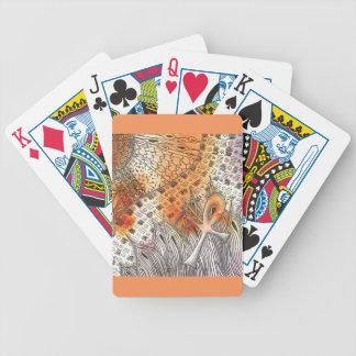 Tarot Symbol Ankh Poker Deck