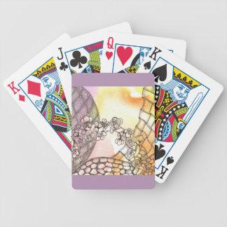 Tarot Symbol Arch Bicycle Playing Cards
