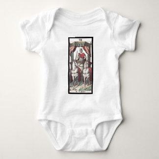 Tarot: The Chariot Baby Bodysuit