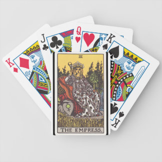 Tarot: The Empress Bicycle Playing Cards