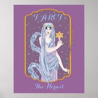 Tarot The Hermit Poster