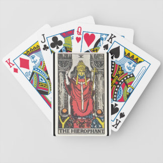 Tarot: The Hierophant Poker Deck