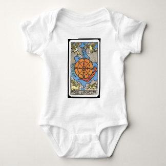 Tarot: Wheel of Fortune Baby Bodysuit
