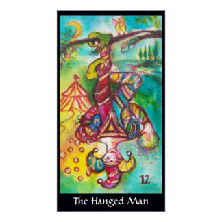 TAROTS OF THE LOST SHADOWS /THE HANGED MAN POSTER