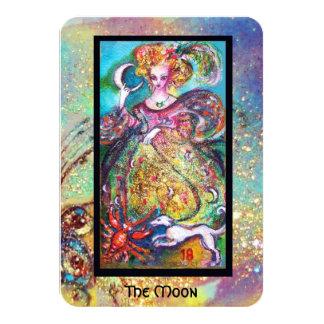 TAROTS OF THE LOST SHADOWS / THE MOON 9 CM X 13 CM INVITATION CARD