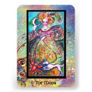 TAROTS OF THE LOST SHADOWS THE MOON PERSONALIZED INVITATIONS
