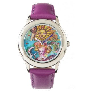 TAROTS OF THE LOST SHADOWS  /THE SUN AND THE MOON WRIST WATCH
