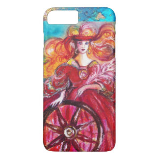 TAROTS OF THE LOST SHADOWS / THE  WHEEL OF FORTUNE iPhone 8 PLUS/7 PLUS CASE