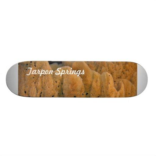 Tarpon Springs Sponge Skateboard